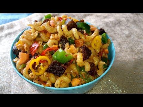 Macaroni Recipe: Easy beef and Vegetable Macaroni Recipe