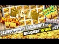 CasinoGrounds Community Biggest Wins #21 / 2017