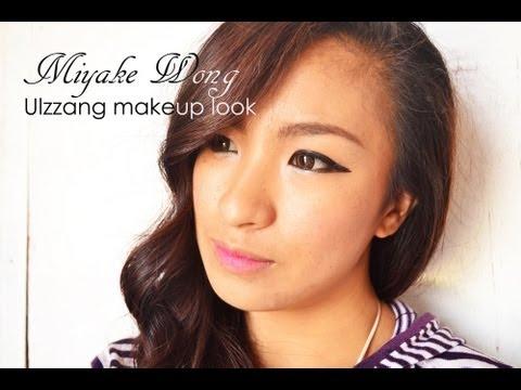 Miyake Wong Ulzzang Makeup Look
