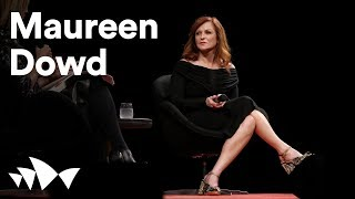 Maureen Dowd On Trump, Fake News And #metoo   Antidote 2018