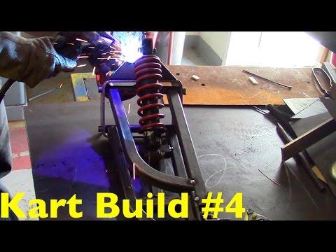 Go-Kart Build Episode #4 (Front Suspension Part 2)