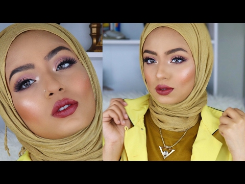 Easy & Realistic Glam Makeup Look For The Non-Extra Ones 😃