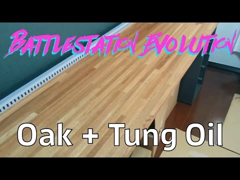 Battlestation Evolution: Tung Oil on the Desk