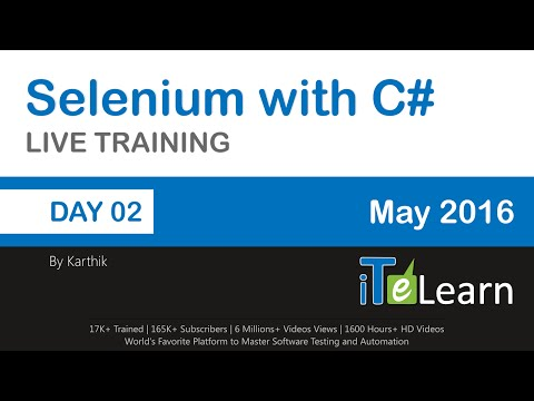 Selenium with C# Live Training Day 02 Writing Test Cases in Selenium IDE