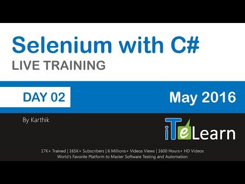 Selenium with C# Live Training Day 02 Writing Test Cases in Selenium IDE