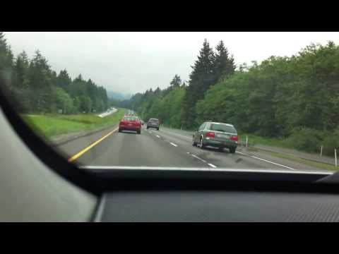 Driving between Seattle and Vancouver BC (1)