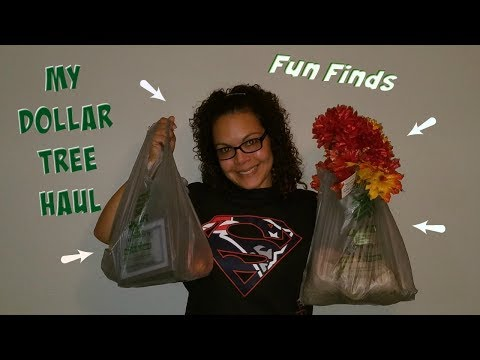 MY DOLLAR TREE HAUL #4 - FOR UPCOMING DIYS  | SEPTEMBER 2017