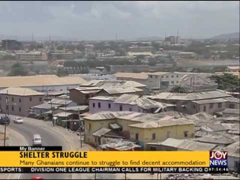 Ghana's housing deficit - My Banner on Joy News (24-5-16)