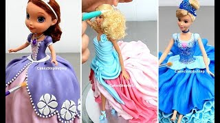 8 Amazing DOLL CAKES Compilation | Girls Birthday Cake Ideas by Cakes StepbyStep