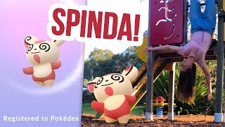 SPUN OUT WITH SPINDA! NEW SHINIES! Pokemon GO Vlog | ZoeTwoDots