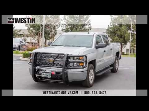 Installation of Westin HDX Winch Mount Grille Guard on 2014 Chevy Silverado 1500