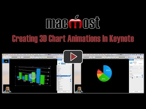 Creating 3D Chart Animations In Keynote (MacMost #1820)