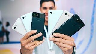 Google Pixel 3 and Pixel 3 XL Color Comparison!
