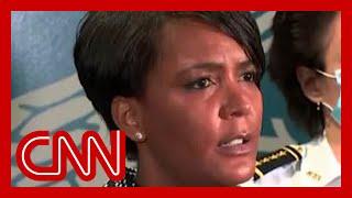 Mayor scolds violent protestors: Not in the spirit of MLK