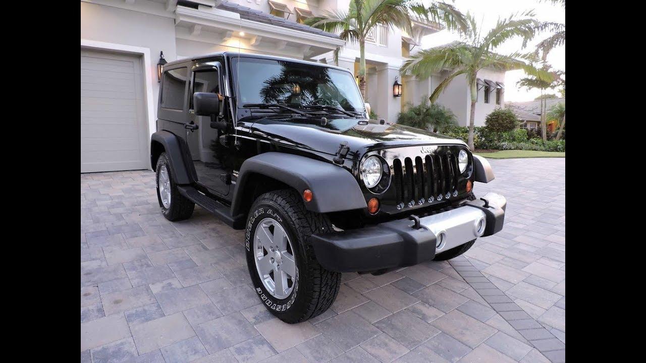 2008 Jeep Wrangler Sahara 4x4 for sale by Auto Europa Naples
