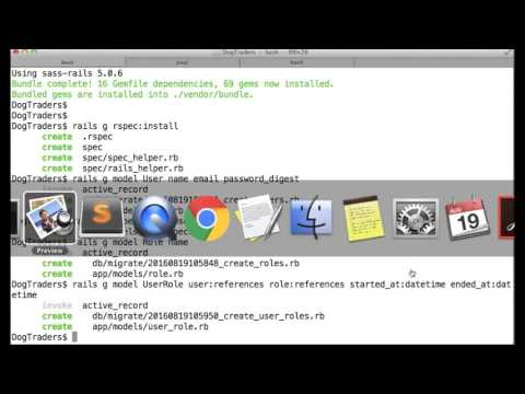 Rails 5 demo of intermediate data relationships