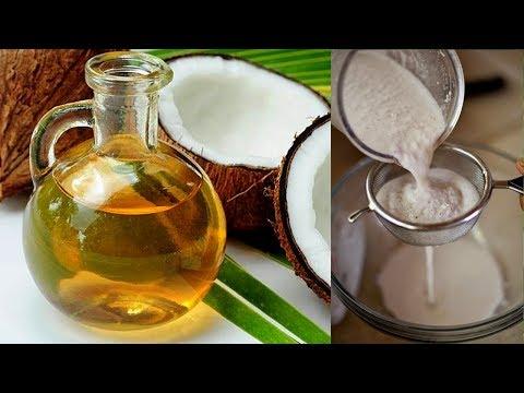 HOMEMADE COCONUT OIL/ HOW TO MAKE  VIRGIN COCONUT OIL