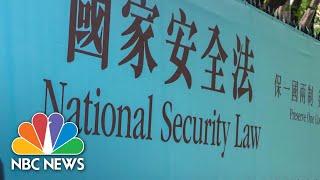 China Passes Controversial Hong Kong National Security Law | NBC News NOW