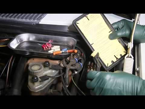 1961 to 1995 Mercedes Benz Fuse Box Troubleshooting and Service