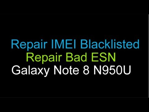 Blacklist IMEI Repair Samsung Galaxy Note 8 AT&T N950U
