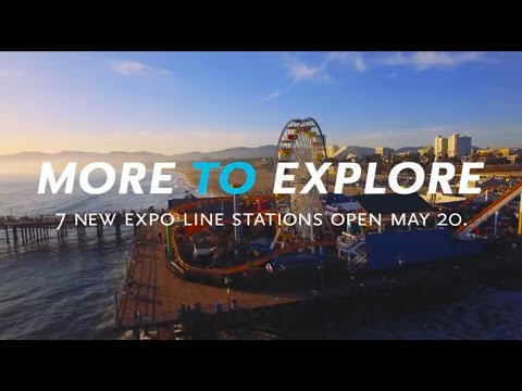 Metro Expo Line: Downtown Los Angeles to Santa Monica
