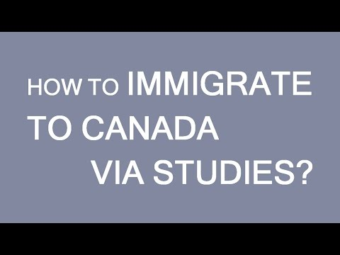 How to immigrate to Canada through studies. LP Group