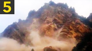 Top 5 Largest Landslides Caught on Video