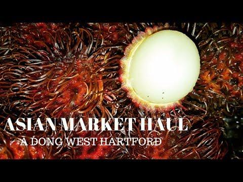 Asian Market Haul - A Dong West Hartford