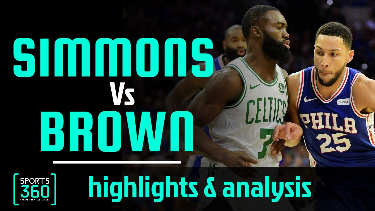Ben Simmons Vs Jaylen Brown REAL NBA SCOUTING REPORT | Highlights | Ryen Russillo | The Ringer