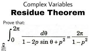 Contour integration of trigonometric integral using complex