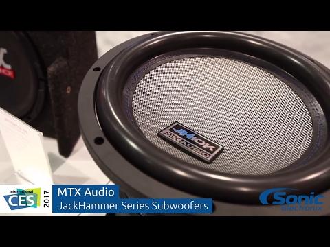 MTX Audio JackHammer Series Subwoofers   CES 2017