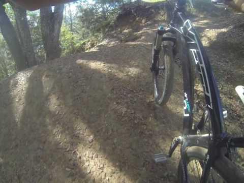 Dirt Jump Line at Santos