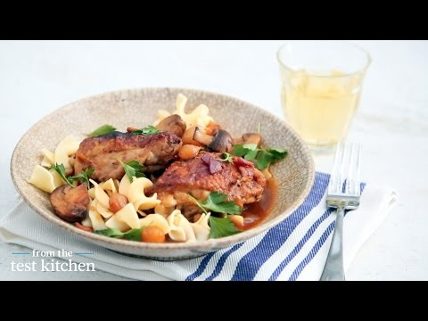 Quick Coq au Vin Blanc - From the Test Kitchen