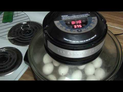Making Hard Boiled Eggs in Nuwave Style Oven Fail