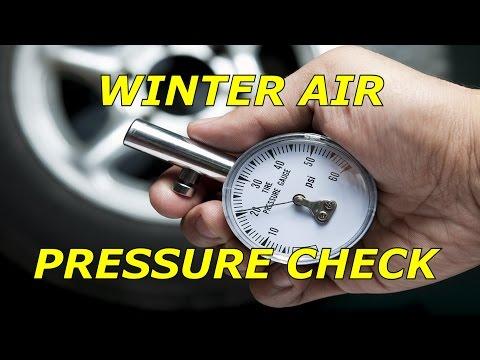Winter tire pressure check (BONUS VIDEO)