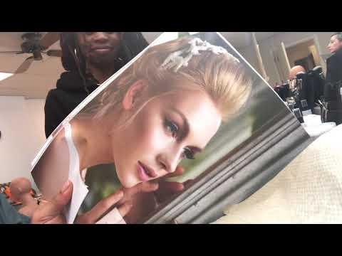 Vlog Week 16: Beauty School - Facials & Makeup