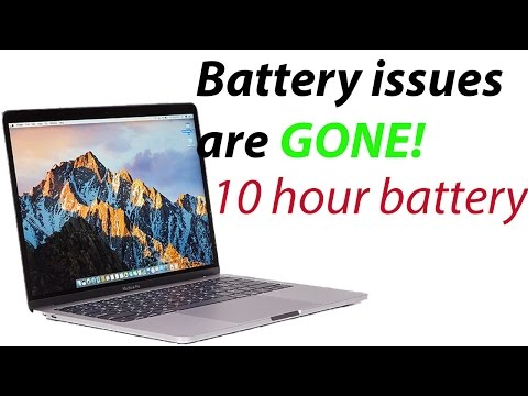 '16 Macbook Pro; 10 hours of battery [How-to}