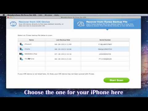 How to Recover iPhone Notes on Mac