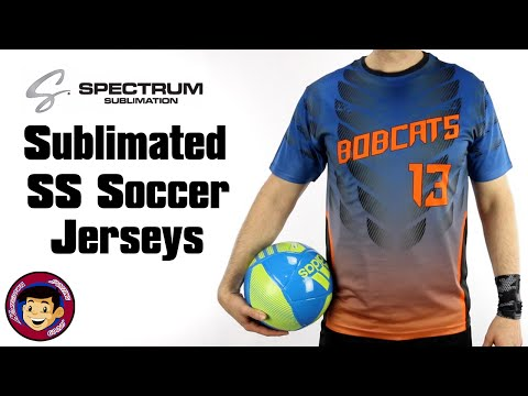 Custom Sublimated Soccer Jerseys | Spectrum - Homegrown Sporting Goods