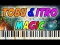 Tobu & Itro - Magic Piano Cover + Tutorial + Midi file (Synthesia)