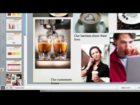Insert slides from multiple sources in PowerPoint for Mac 2011