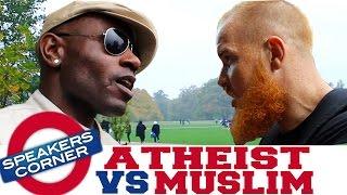 Atheist vs Muslim | Speakers Corner