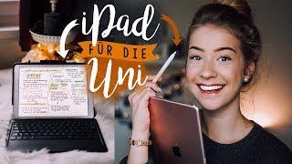 IPAD FÜR DIE UNI - bei Vorlesungen mitschreiben, Schöne Notizen digital (Apple Pencil, Good Notes)