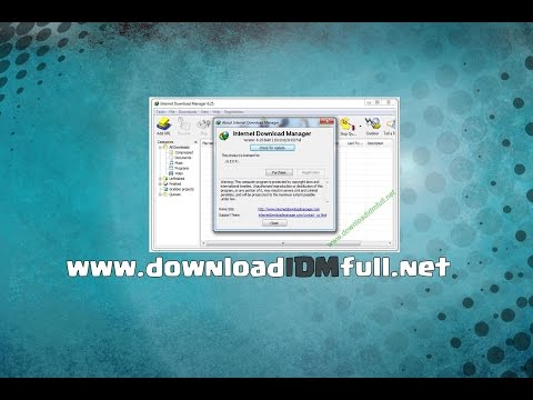 Download IDM Internet Download Manager Full - [TUTORIAL] 6.25 Newest version