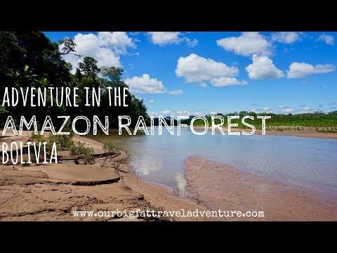 Adventure in the Amazon Rainforest Bolivia | Our Big Fat Travel Adventure