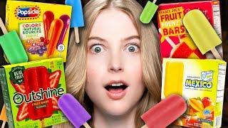 Frozen Fruit Popsicles Taste Test