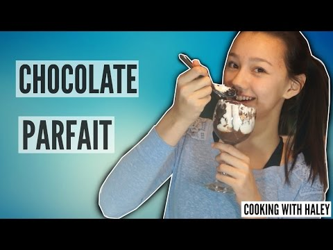 Cooking With Haley! | Chocolate Parfait | HelloHaley