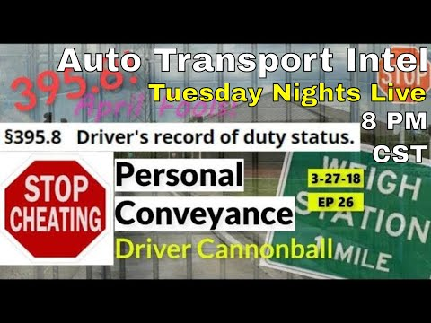 ELD Violation 395.8 Personal Conveyance Rules ELD Deadline April Fools