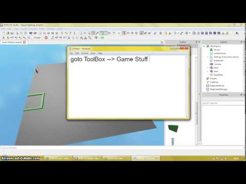 roblox how to make a paintball place