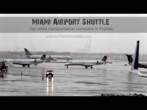 shuttle service from miami airport to orlando